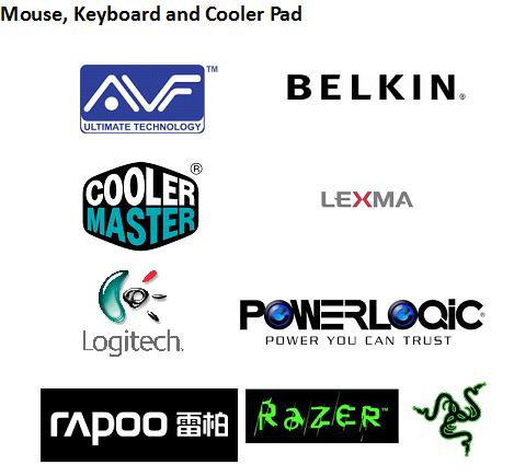 Mouse, Keyboard and Cooler Pad