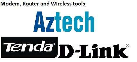 Modem, Router and Wireless Devices